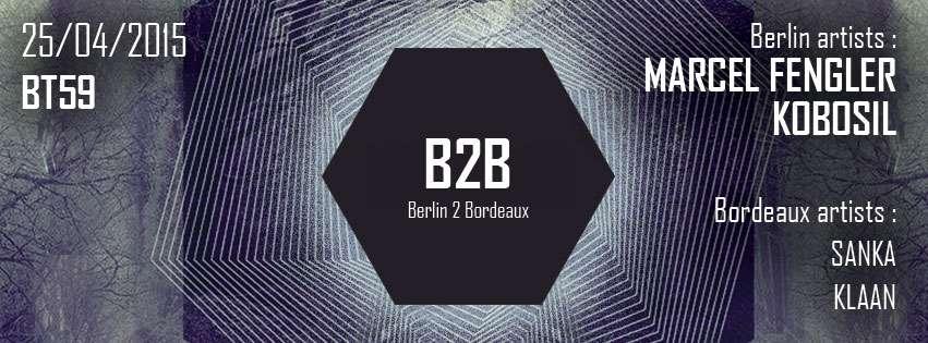 [Bordeaux] 25/04/15 REWIND PRODUCTION PRESENTE MARCEL FENGLER & KOBOSIL @ BT59 – 2×1 place à gagner