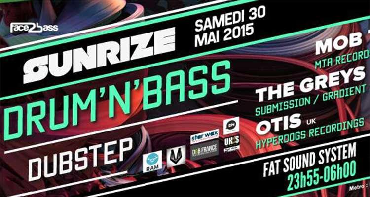 30/05/2015 Sunrize @Glazart Paris