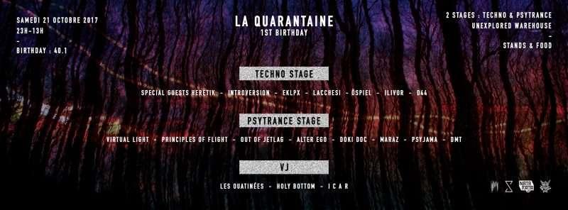 [Paris] 3 rendez-vous techno indus et acidcore immanquables fin octobre