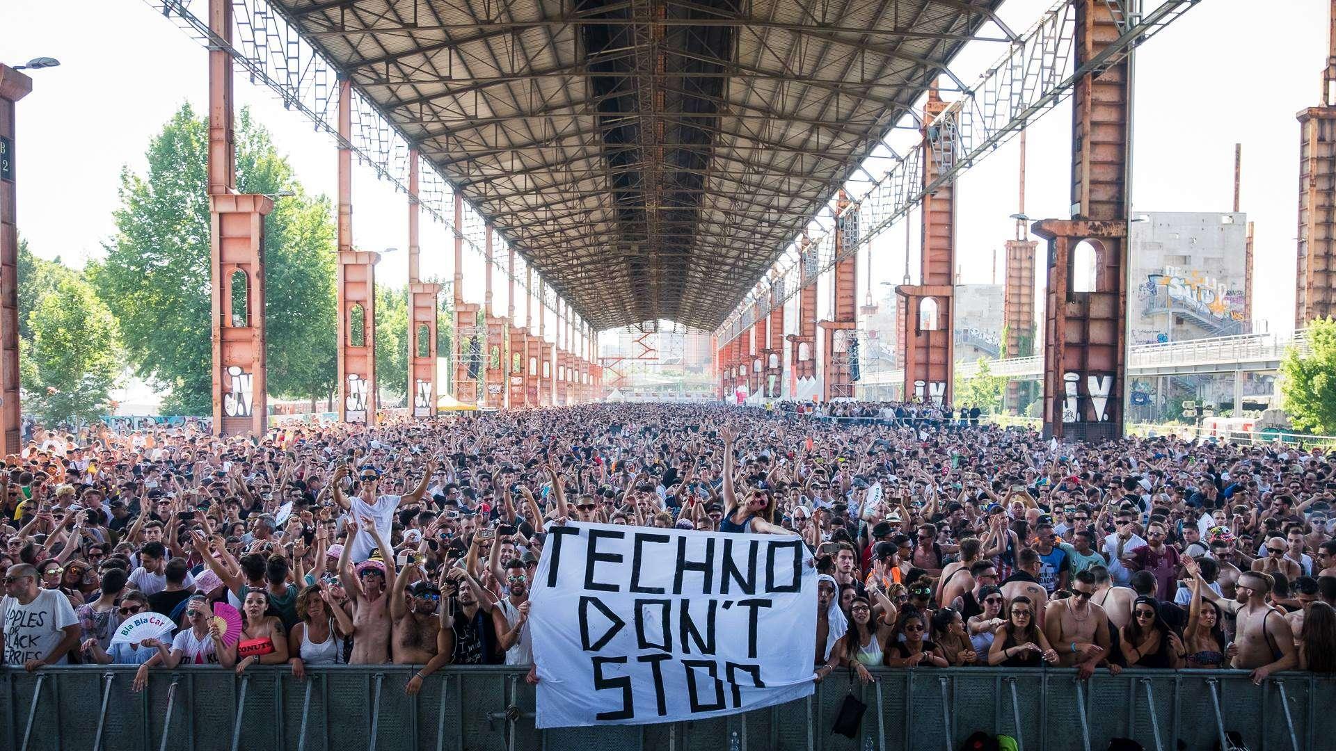[Italie] Kappa Futur Festival : 2 jours de techno dans l'ancienne friche industrielle de Fiat