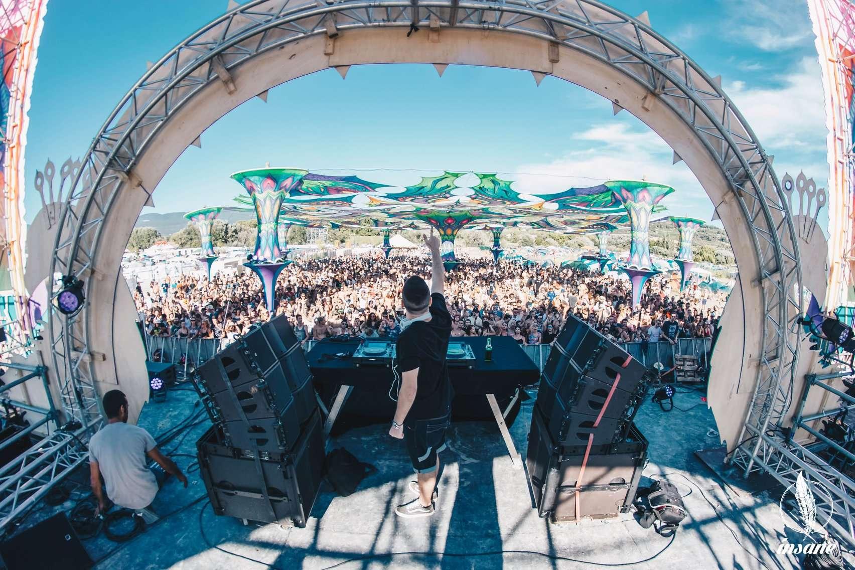 [Sud] Insane Festival 2019 : 95% du line up a été annoncé avec de la trance, techno, dub, hard et bass music