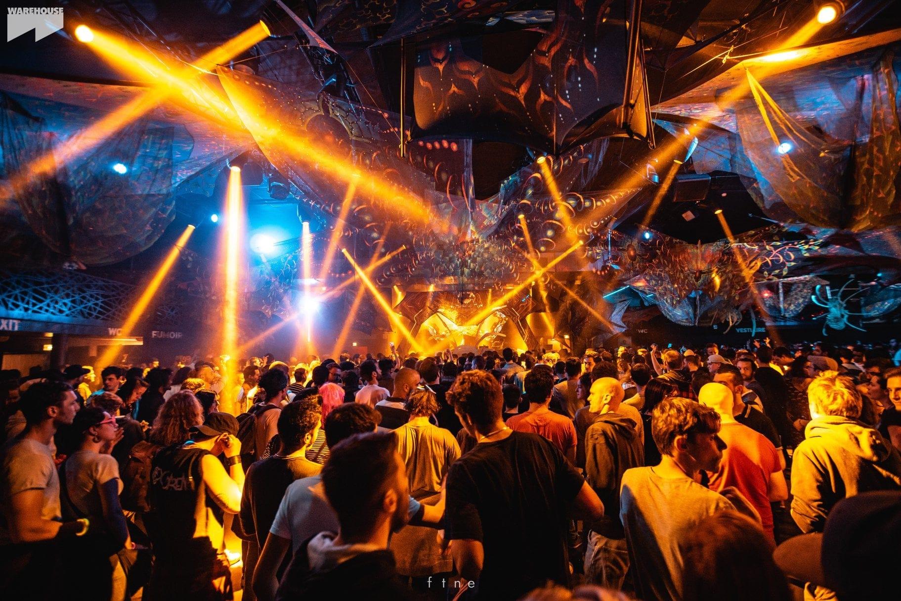 Le Warehouse de Nantes se transforme en repère psyché pour l'Ethereal Decibel Winter festival