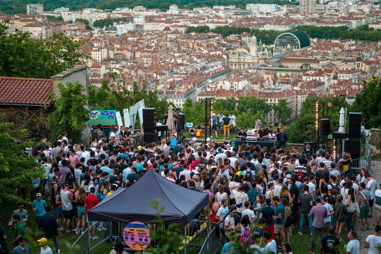 [Lyon] Les hauteurs de Lyon se transforment en dancefloor house de 2j à l'ECAM Festival