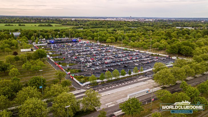Photo de la drive-in rave de Dusseldorf