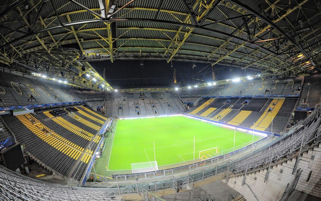 Paul Van Dyk a mixé à huis clos dans l'immense stade de foot de Dortmund