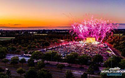 Un énorme drive-in rave festival aura lieu ce week-end pour le World Club Dome
