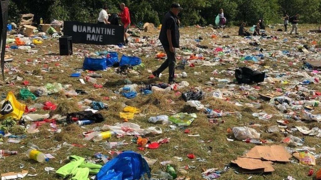 Photo du site d'une Quarantine Rave à Manchester
