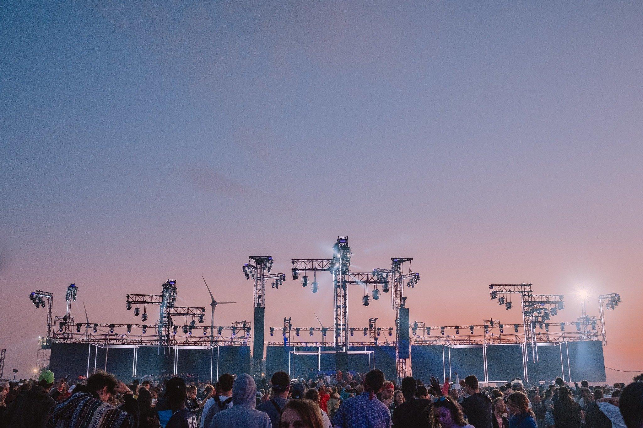 Photo du dour festival