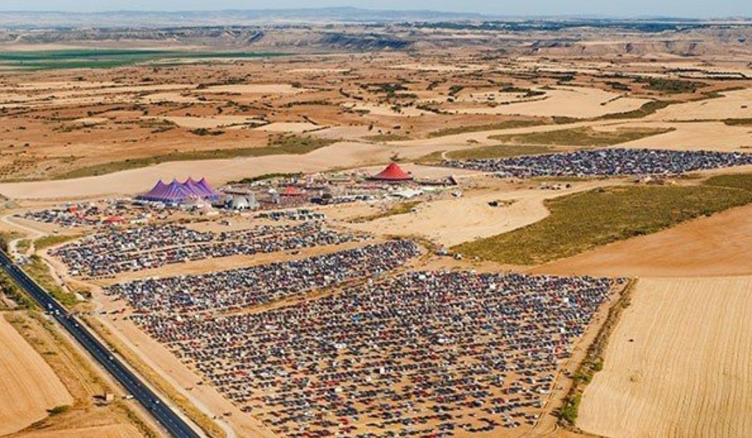Le Monegros Desert Festival est officiellement reporté en 2021