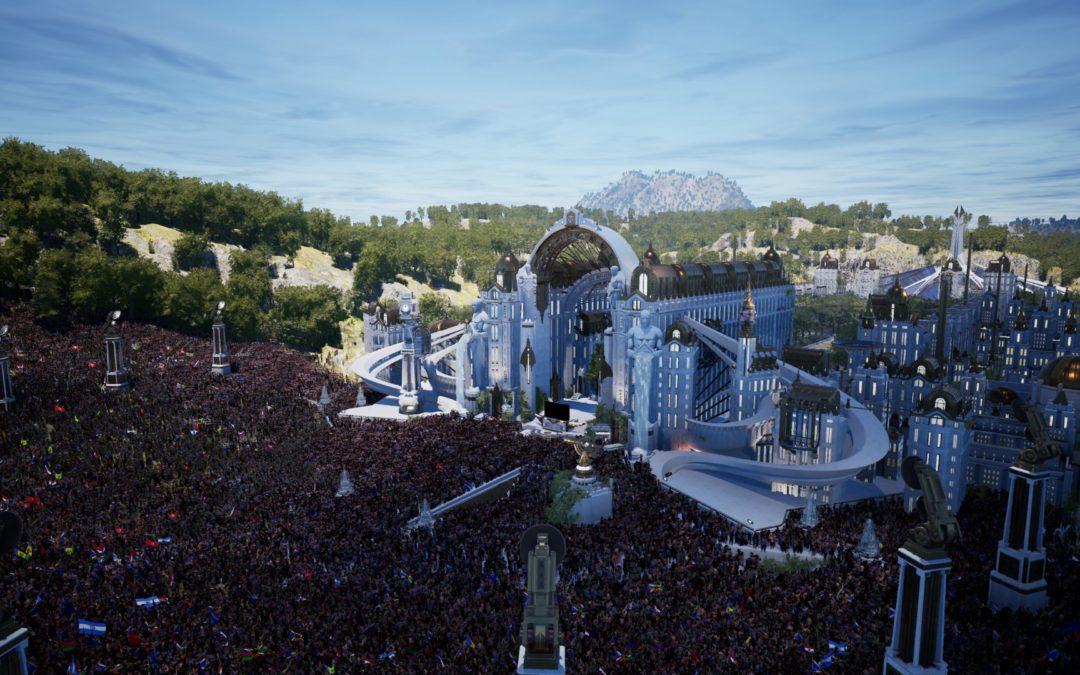 [IMAGES] Tomorrowland dévoile les lieux de son festival numérique