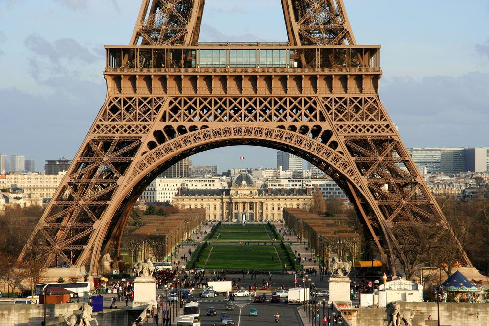 Premier étage de la Tour Eiffel