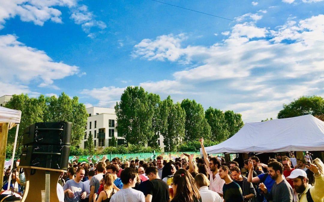 Organïk : un immense open air éco-responsable techno & micro s'installe à Paris