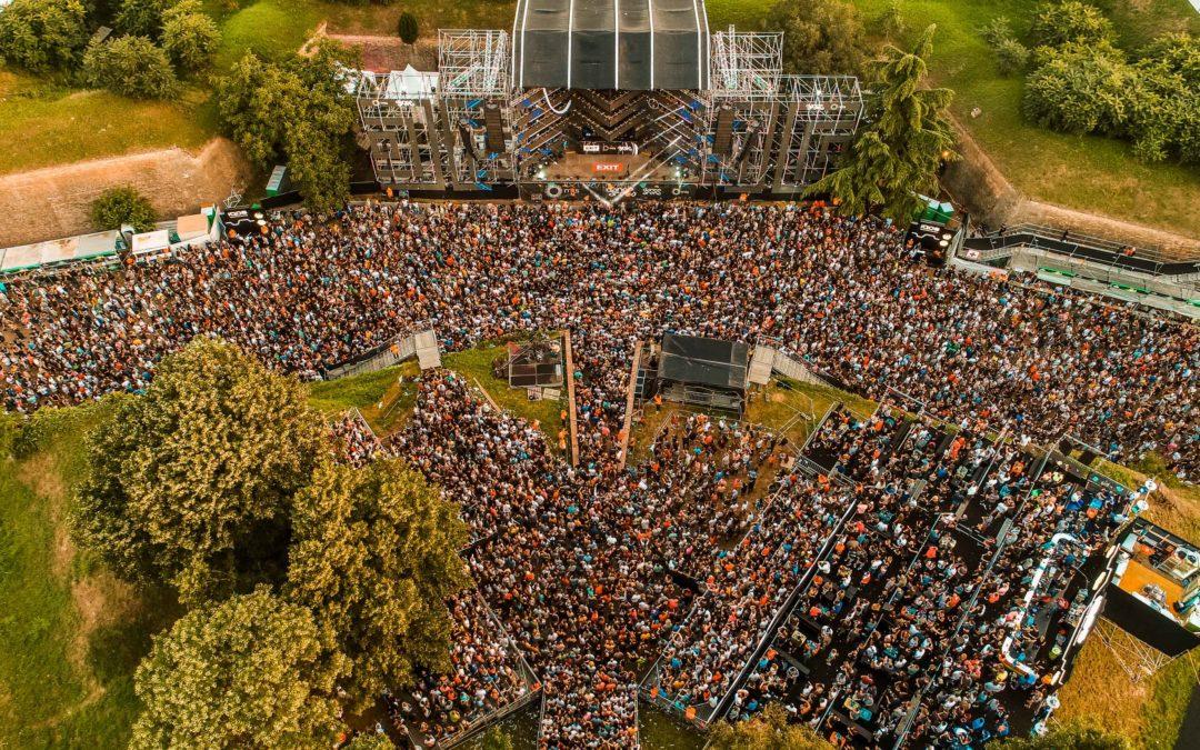 Deuxième vague en Serbie : l'Exit Festival prêt à abaisser sa capacité jusqu'à 99%