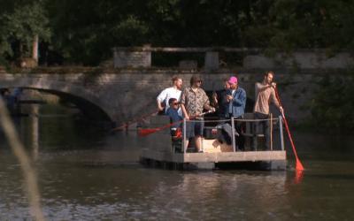 Covid-19 : le premier festival de Belgique a eu lieu sur des barques