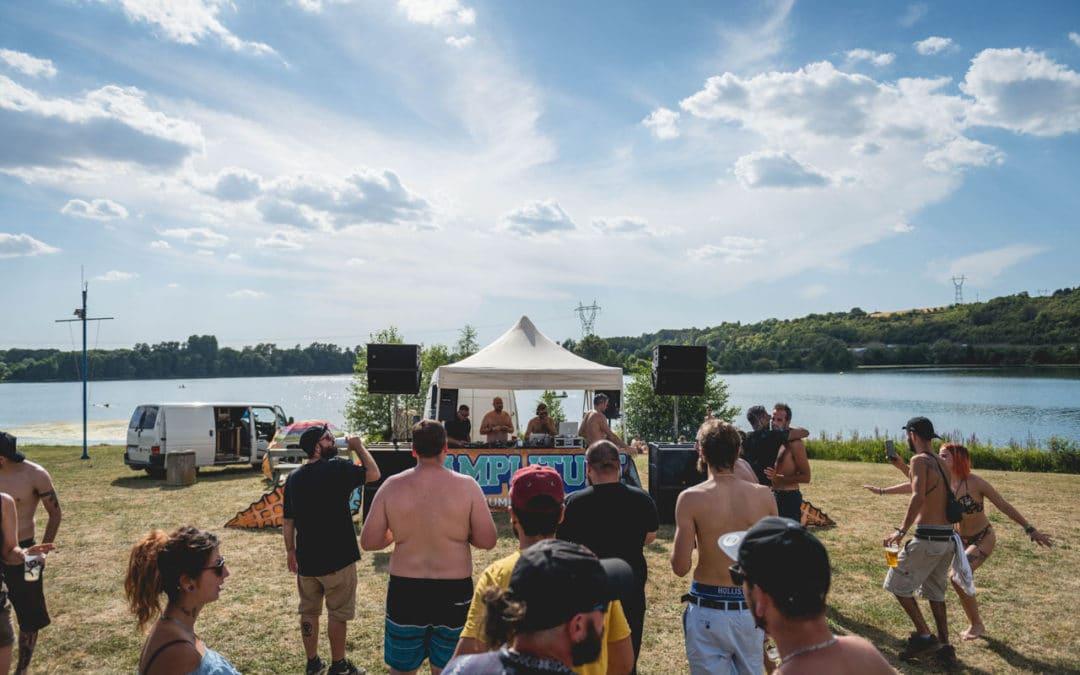 IDF : sports nautiques et DJ sets toute la journée au bord d'un lac à la Amplitude