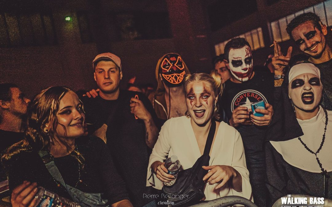 The Walking Bass : le festival techno de l'horreur débarque à Marseille pour Halloween