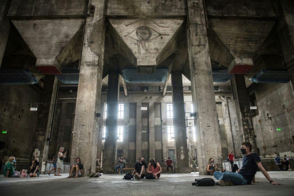 Berlin : le Berghain a ouvert ses portes à l'occasion d'une exposition sonore