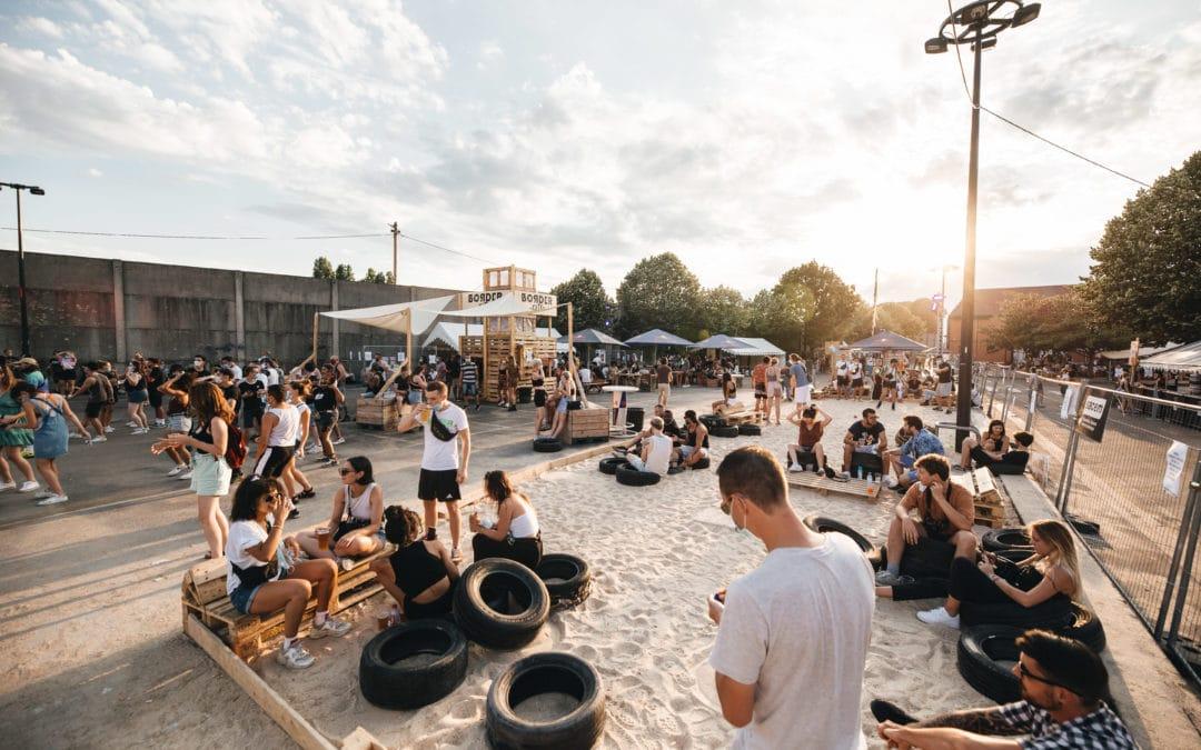 L'open air Border City accueille Château Perché, Len Faki et Jeremy Underground ce week-end