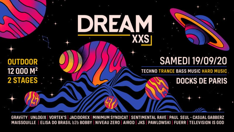 line up de dream nation 2020
