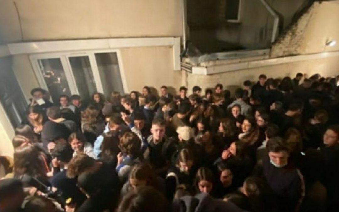 [Lille] 200 personnes s'invitent à une soirée étudiante, la police intervient