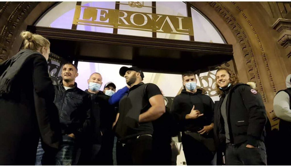 patrons de discothèques bloquant une soirée étudiante à Metz
