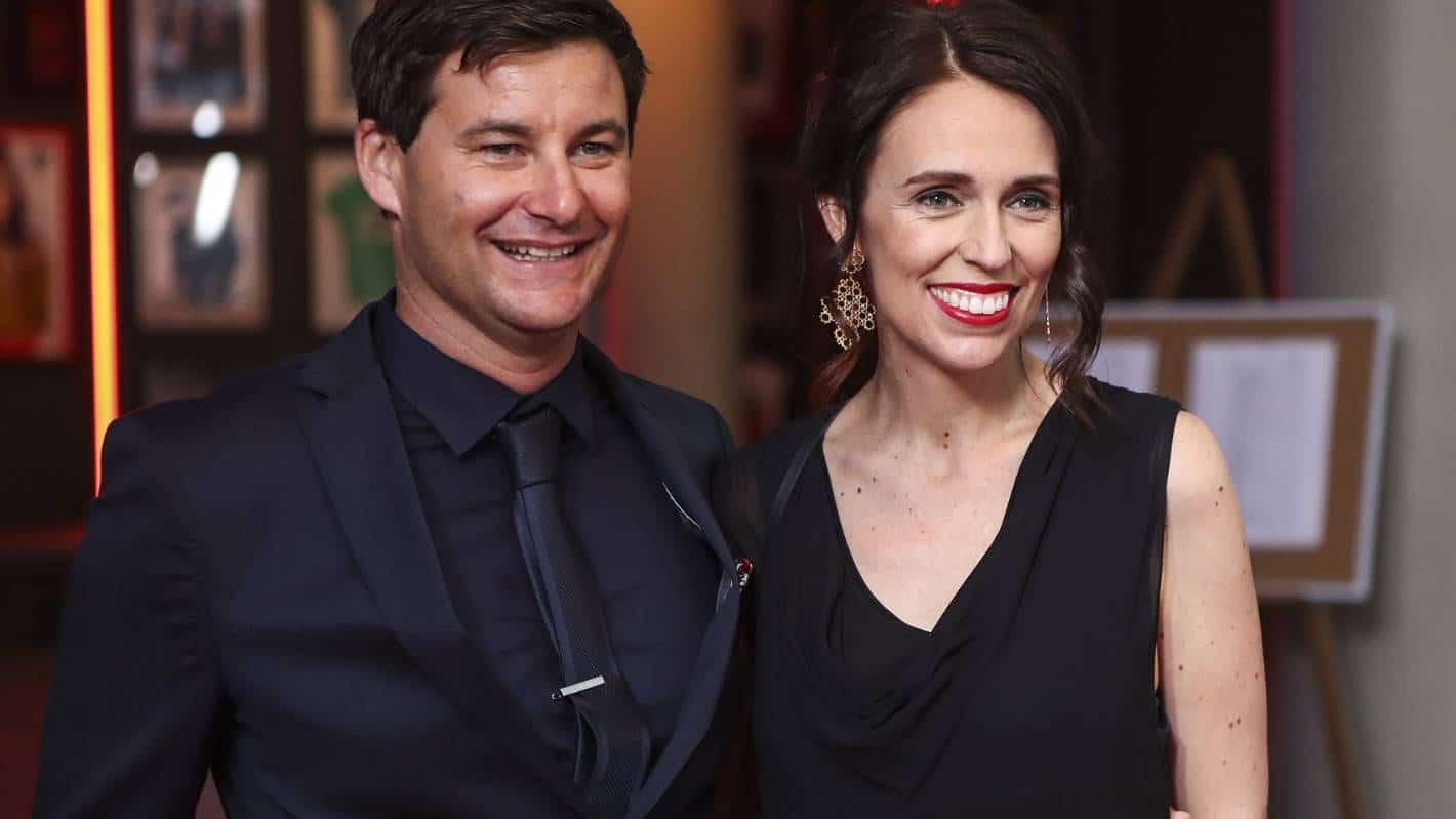 Clarke Gayford et Jacinda Ardern