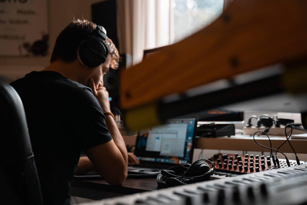 Aalson en studio
