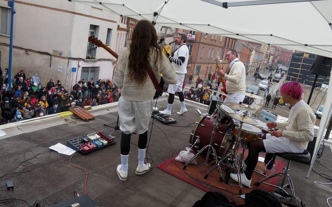 Un concert de protestation autorisé a eu lieu samedi dernier à Toulouse