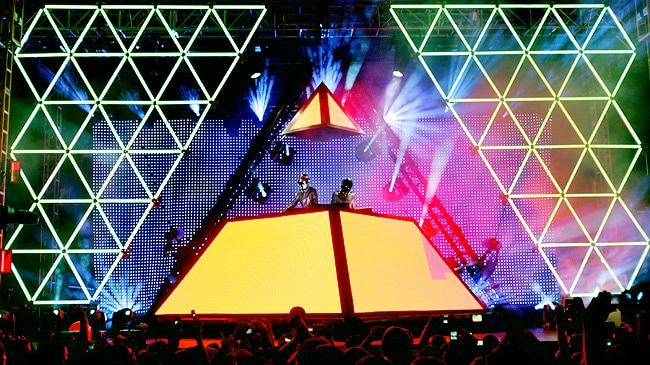 Inédit : une vidéo complète d'un live des Daft Punk en 2007 refait surface