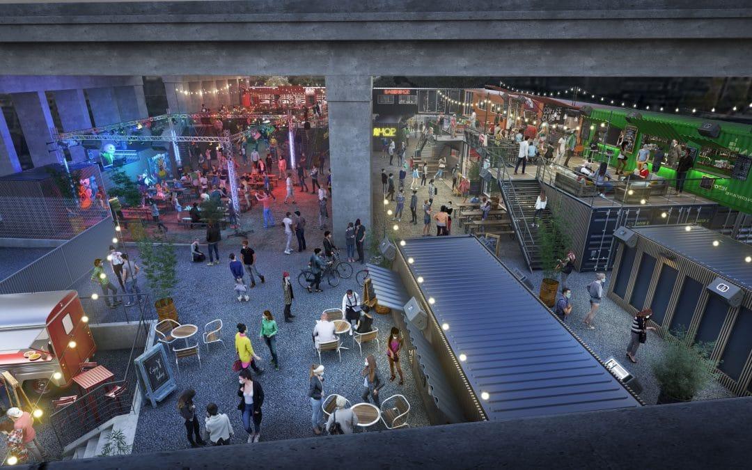 Kilomètre25 : un espace culturel de 2 200m² ouvrira cet été sous le périphérique parisien