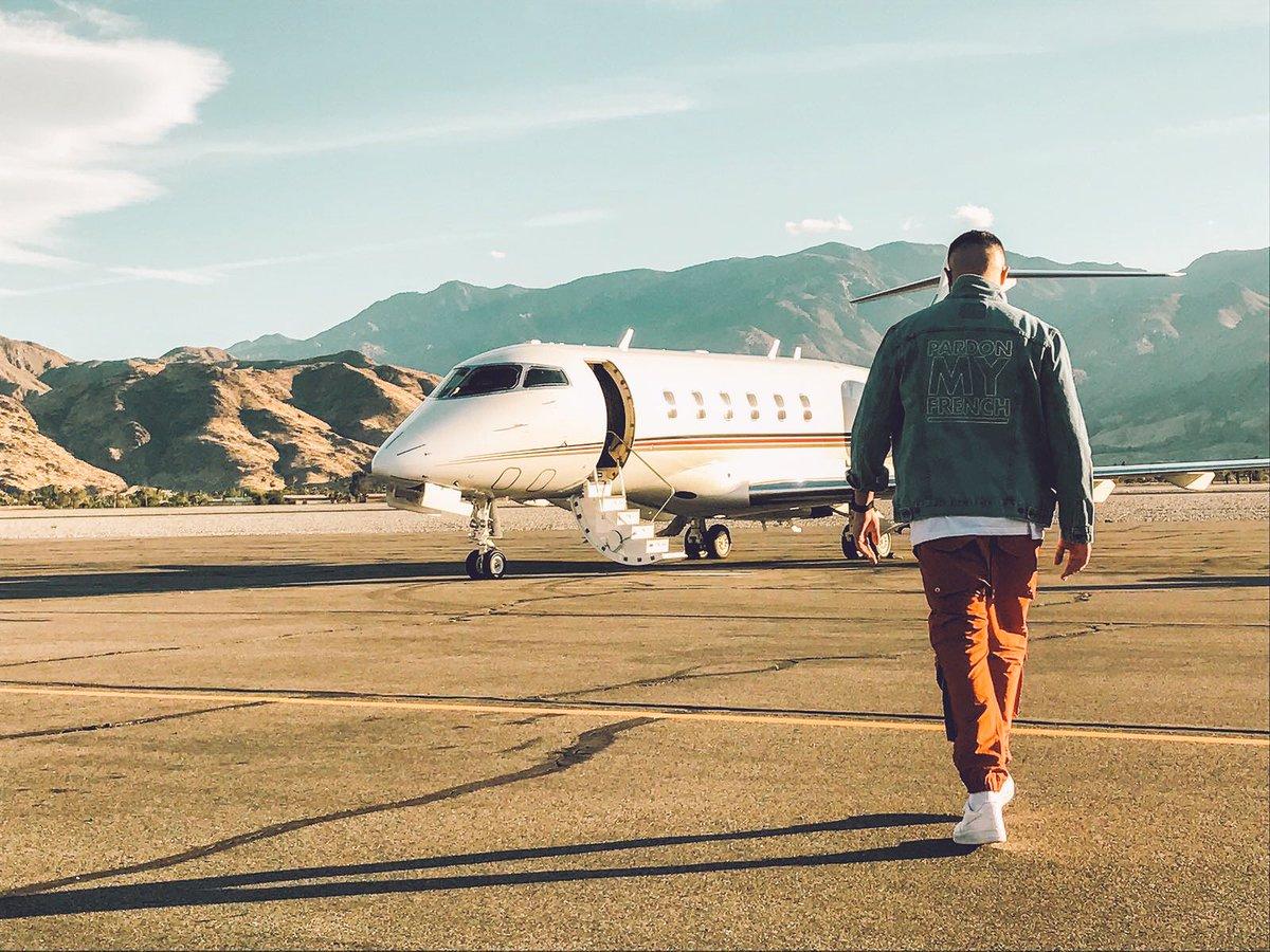 DJ snake et son jet privé