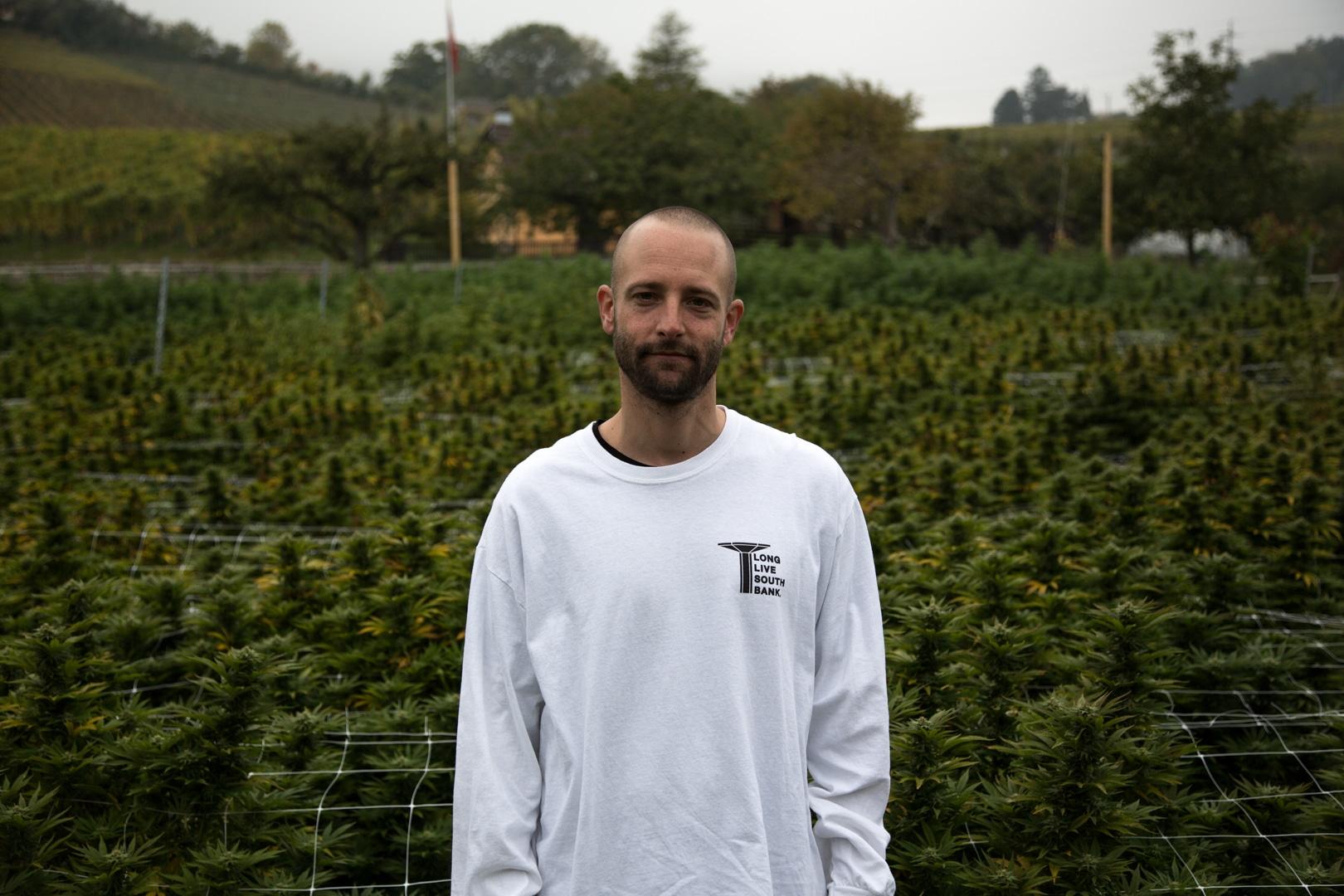 Jonas Duclos, CEO de CBD420