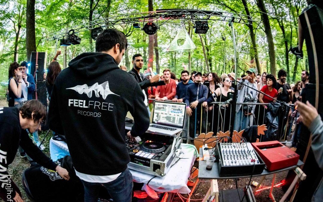 Le collectif underground Feel Free Records dévoile une nouvelle compil' techno et acid