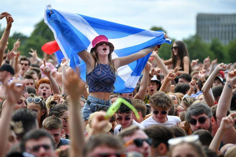Festival TRNSMT in Scotland