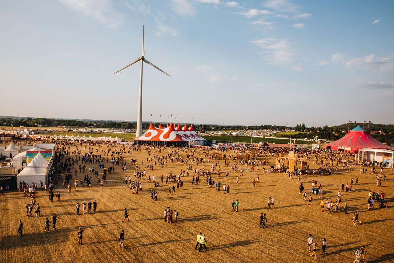 Photo du Dour Festival. Crédit : © Caroline Coolen