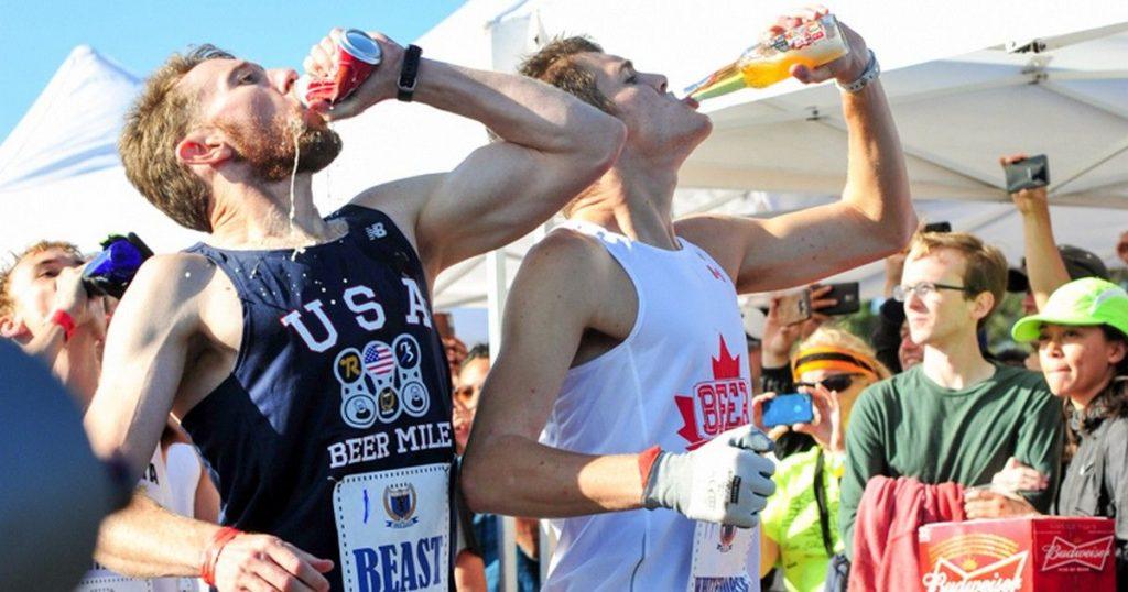 Photo de la Beer Mile