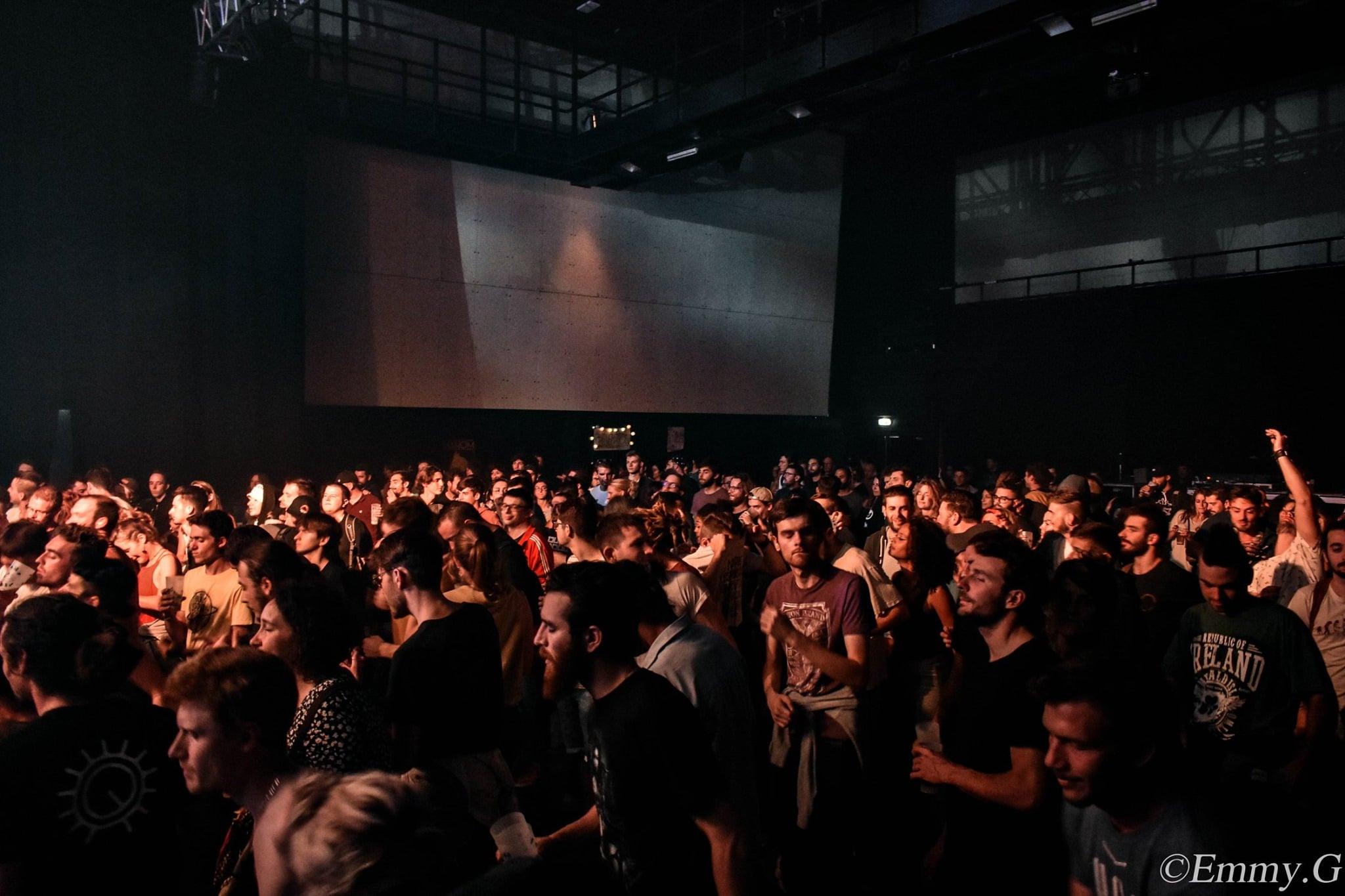 Photo d'un concert au Film Smac de St Etienne Crédit : Emmy G