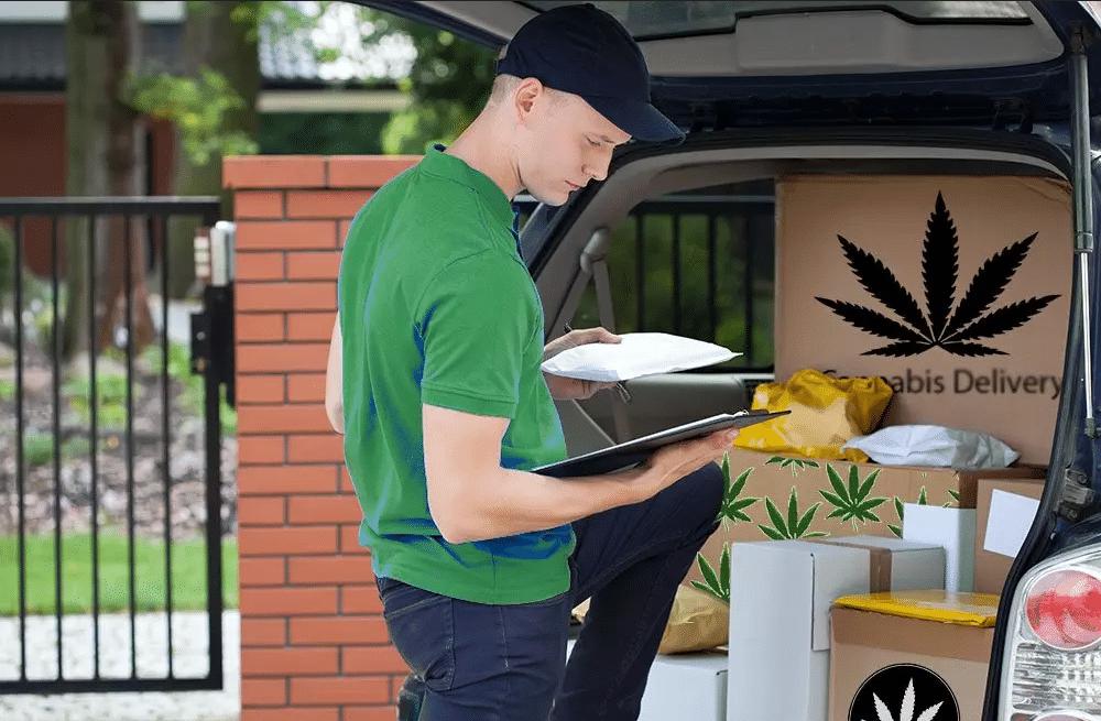 Livraison de cannabis à domicile par Uber