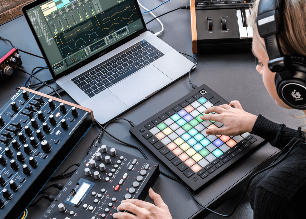 Photo d'un Launchpad de Novation