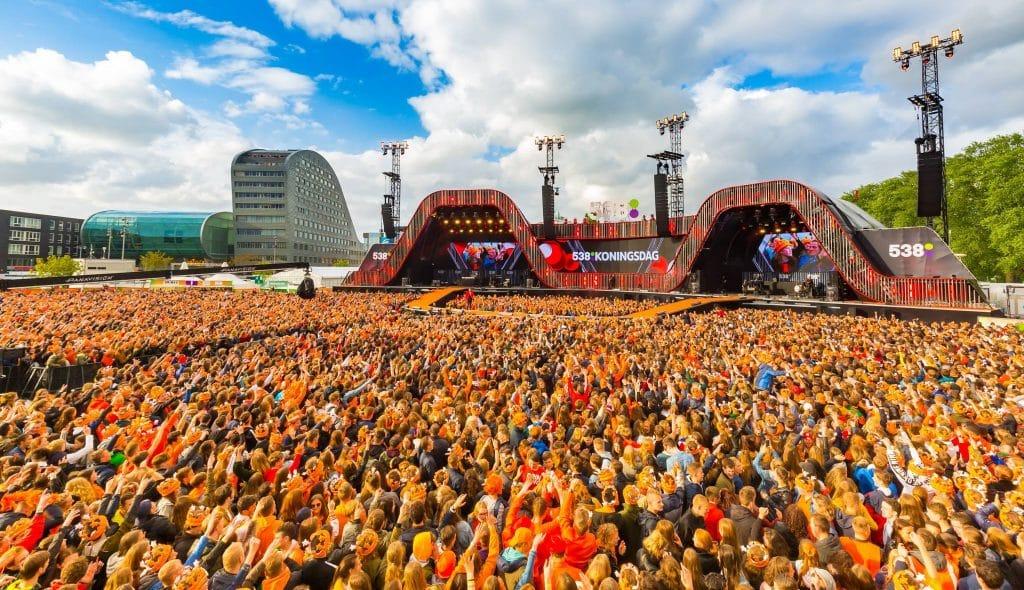 Festival de Radio 538 en 2019 à Breda