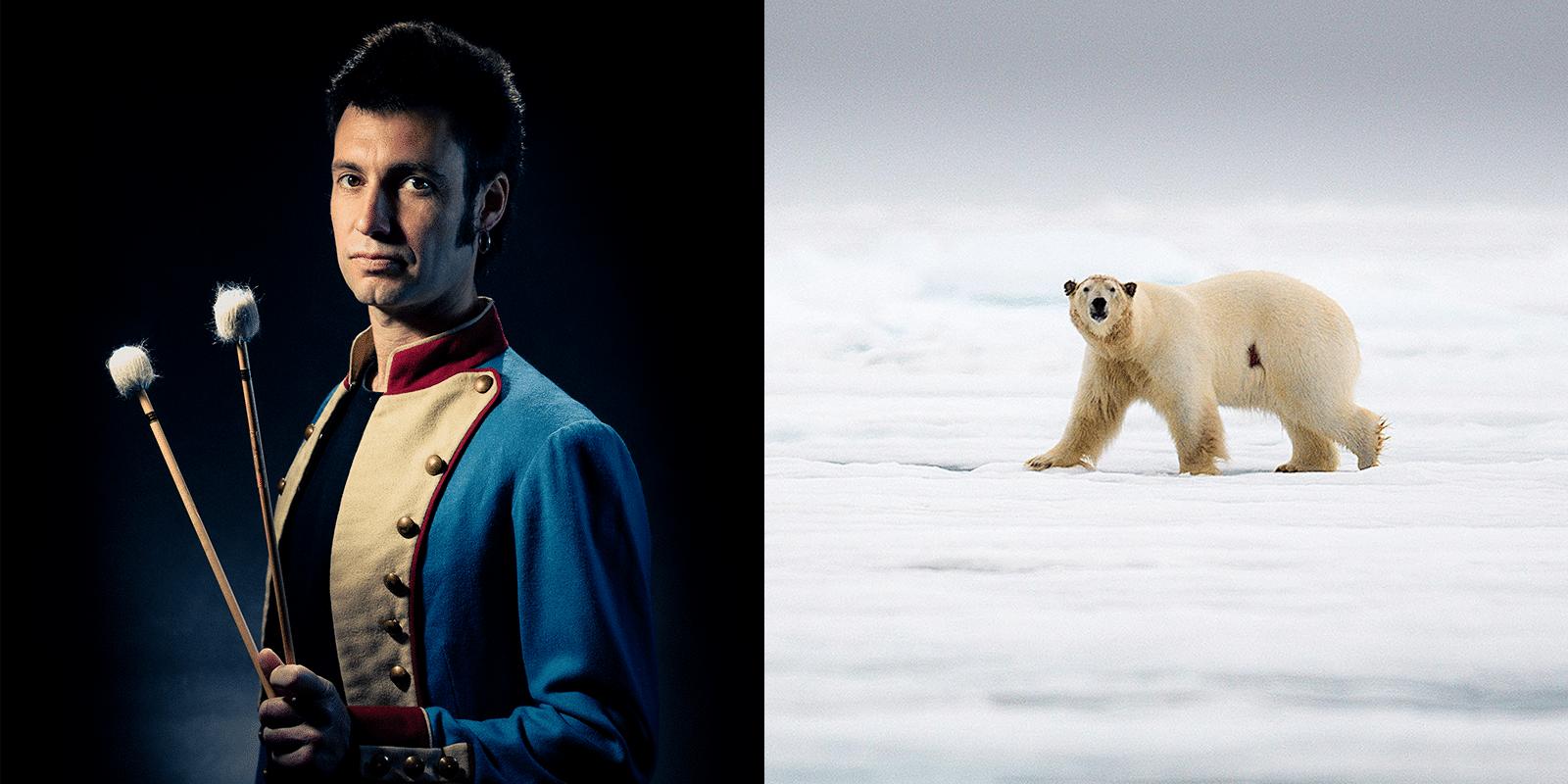 Soloma et un ours polaire