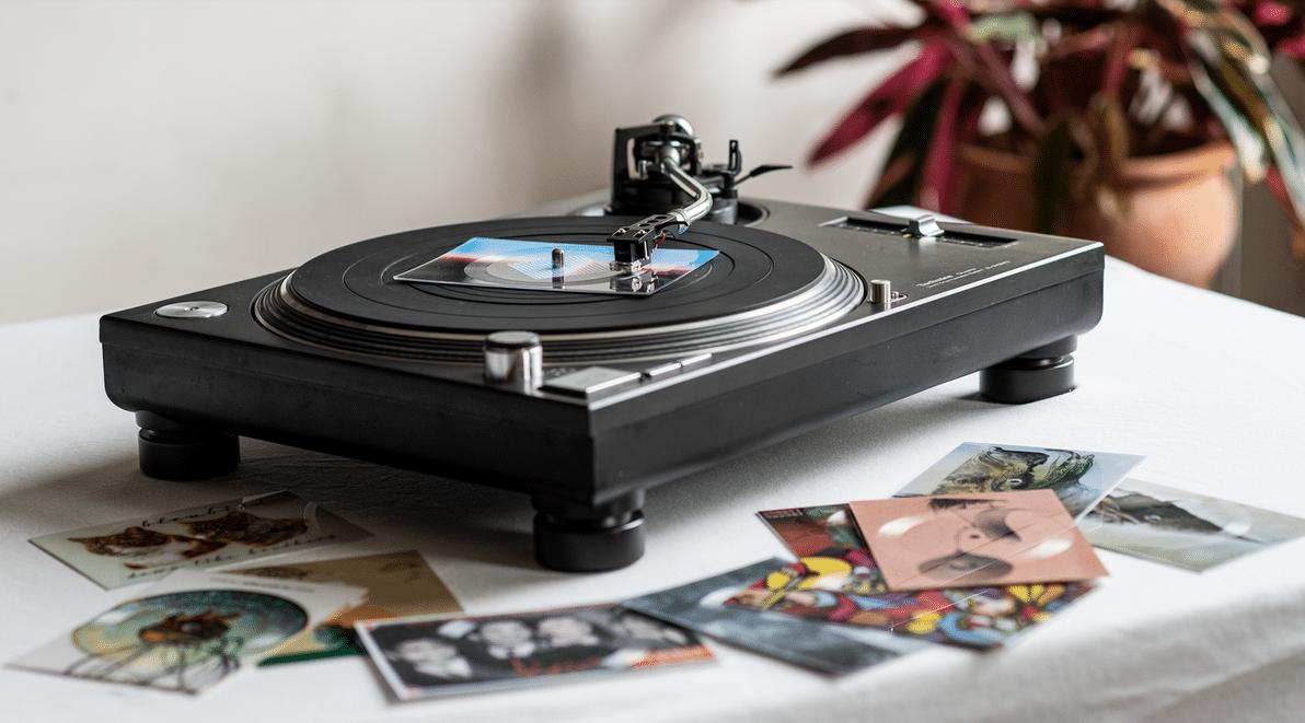 Vinylpostcards
