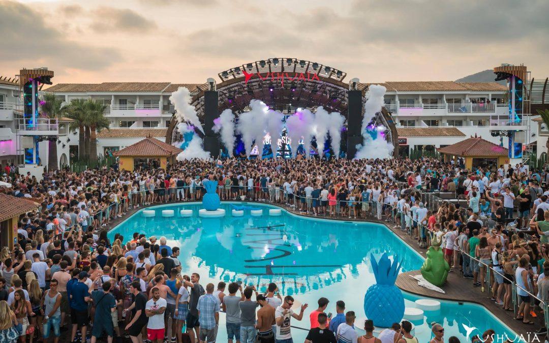 Ibiza : l'Ushuaïa et l'Ibiza Rocks rouvrent à partir du mois de mai !