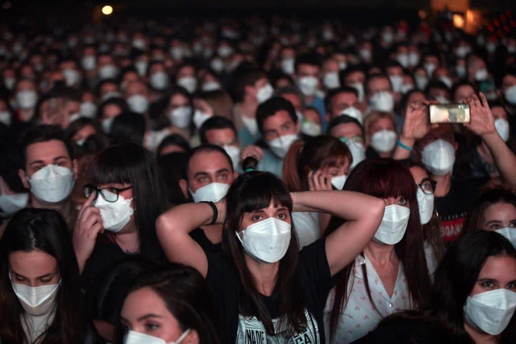 Concert test de Love of Lesbians à Barcelone. Crédit : Alejandro García de Majorca Daily Bulletin