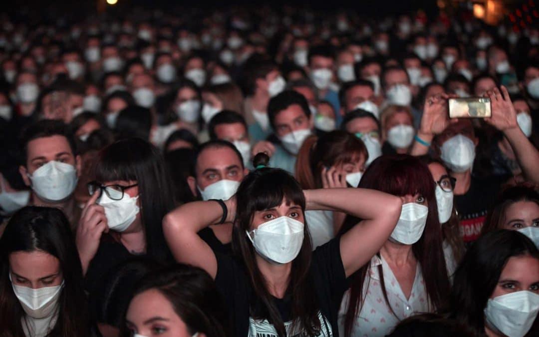 Concert-test à Paris : des caméras veilleront au port du masque