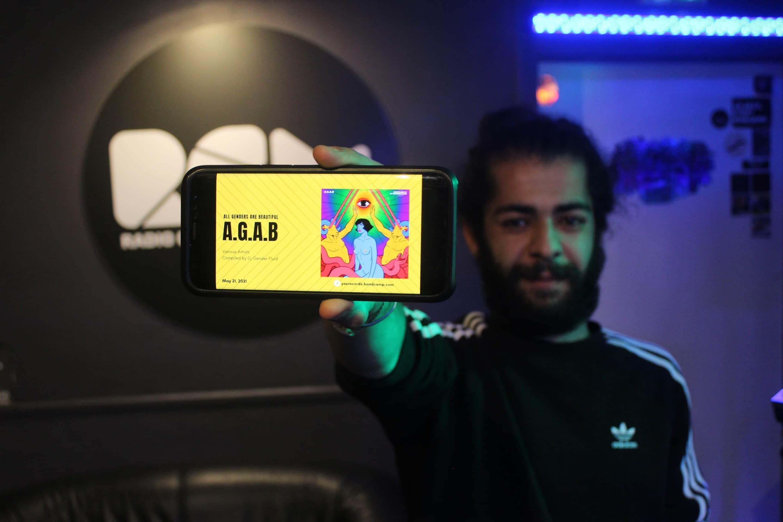 Amine aka DJ Gender Fluid de A.G.A.B