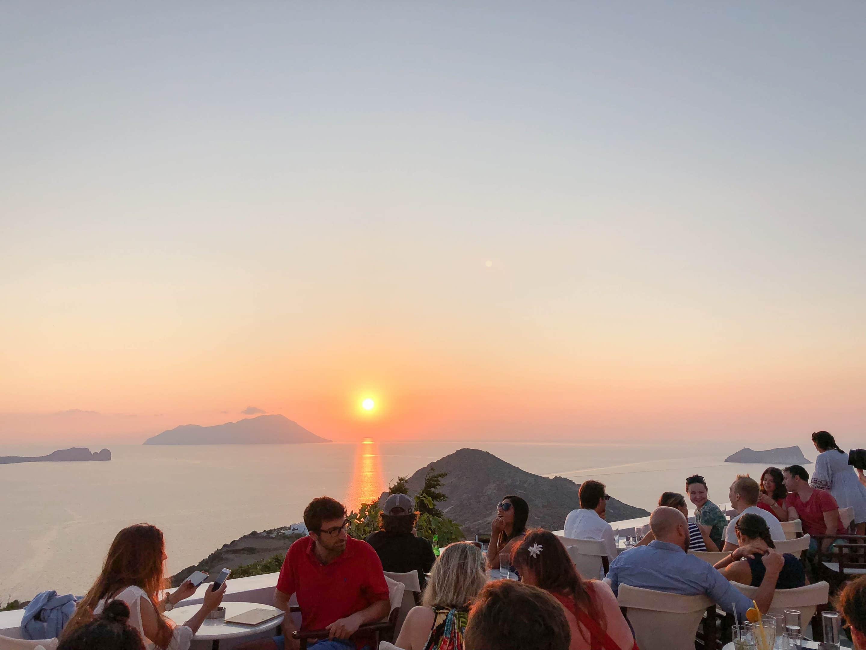 Utopia Café en Grèce (Milos Island)