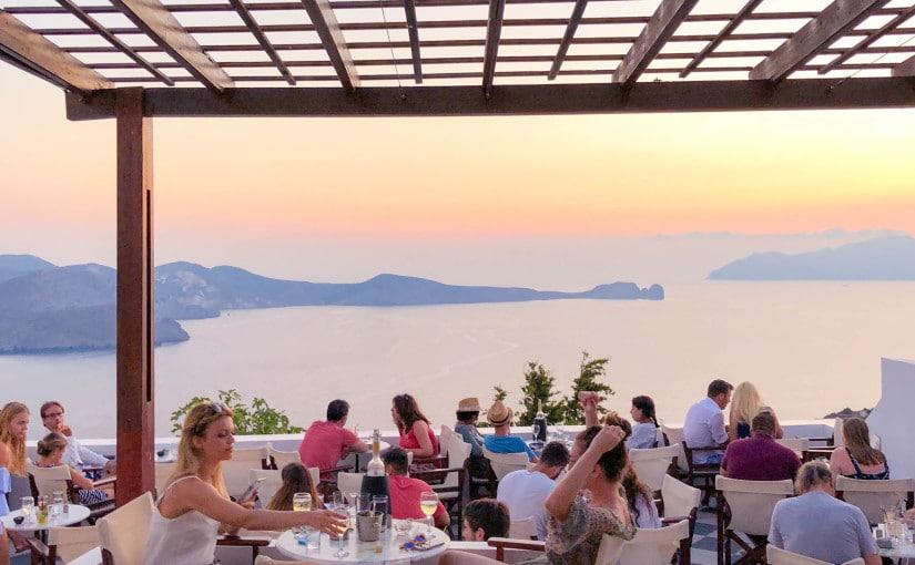 Utopia Café, Plaka, Milos Island