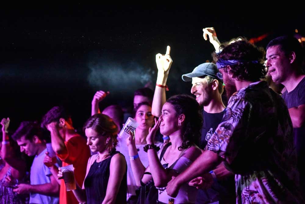 Photo de gens qui dansent au Bel Air Festival