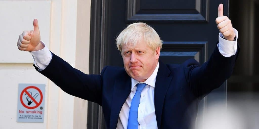Photo de Boris Johnson © Jeff J Mitchell/Getty Images